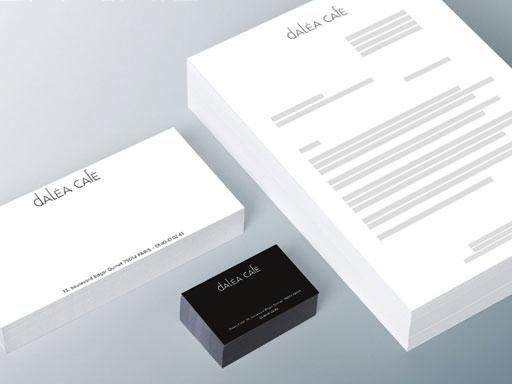 DALÉA CAFÉ // logo print