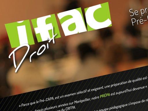 IFAC Droit // web