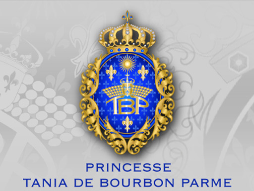 TANIA DE BOURBON PARME // logo print web