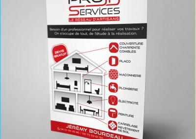 Flyer de l'entreprise PROJB Services