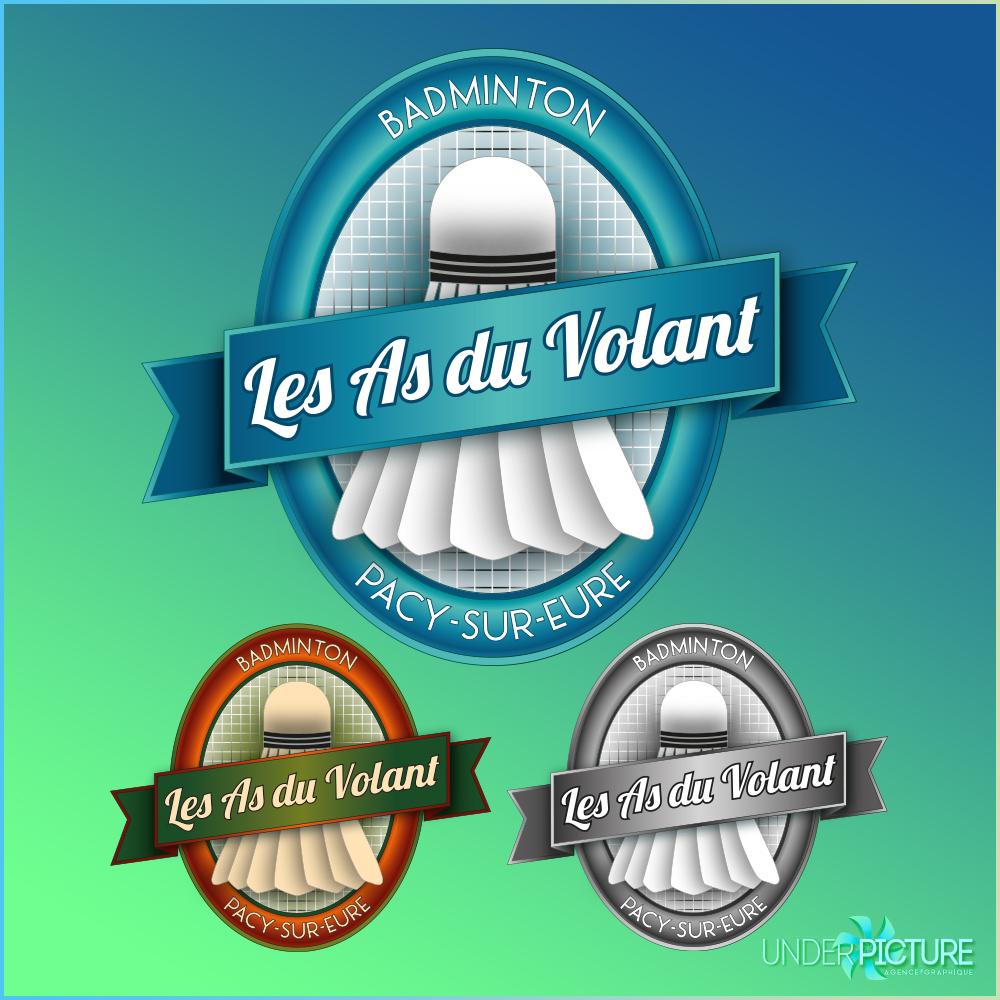 Logo de l'association de badminon de Pacy-Sur-Eure