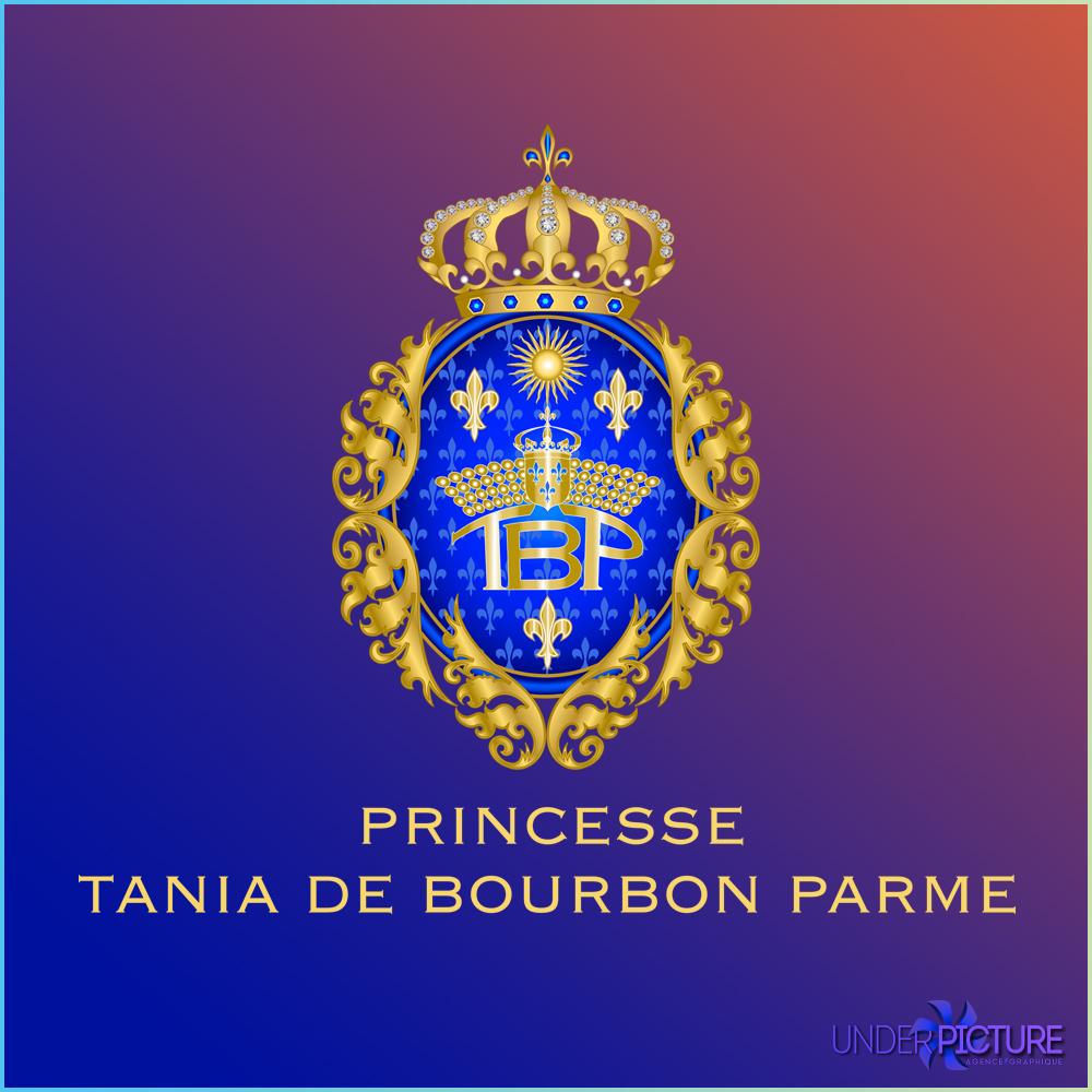 Blason de la Princesse Tania de Bourbon Parme