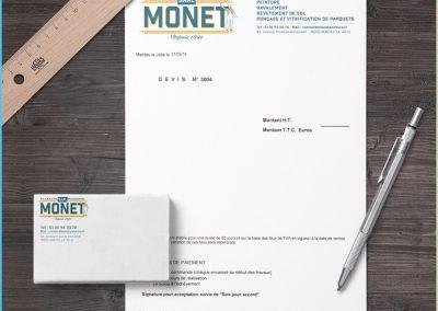 Papeterie Entreprise Monet