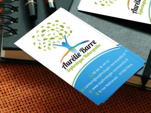 AURELIE BARRE // logo print web