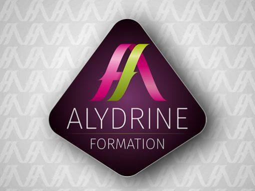 ALYDRINE FORMATION // logo print web
