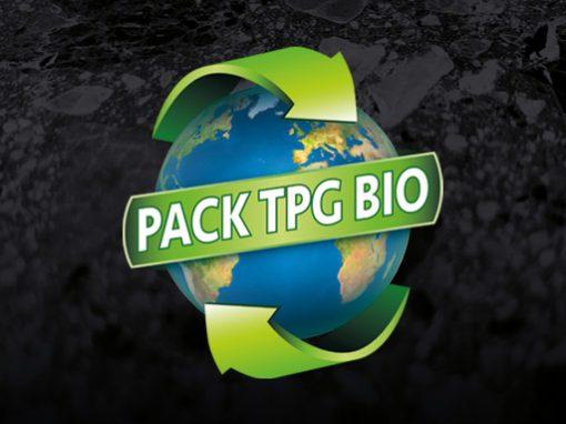 PACK TPG BIO // logo print