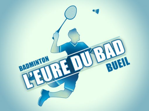 L'EURE DU BAD // logo print
